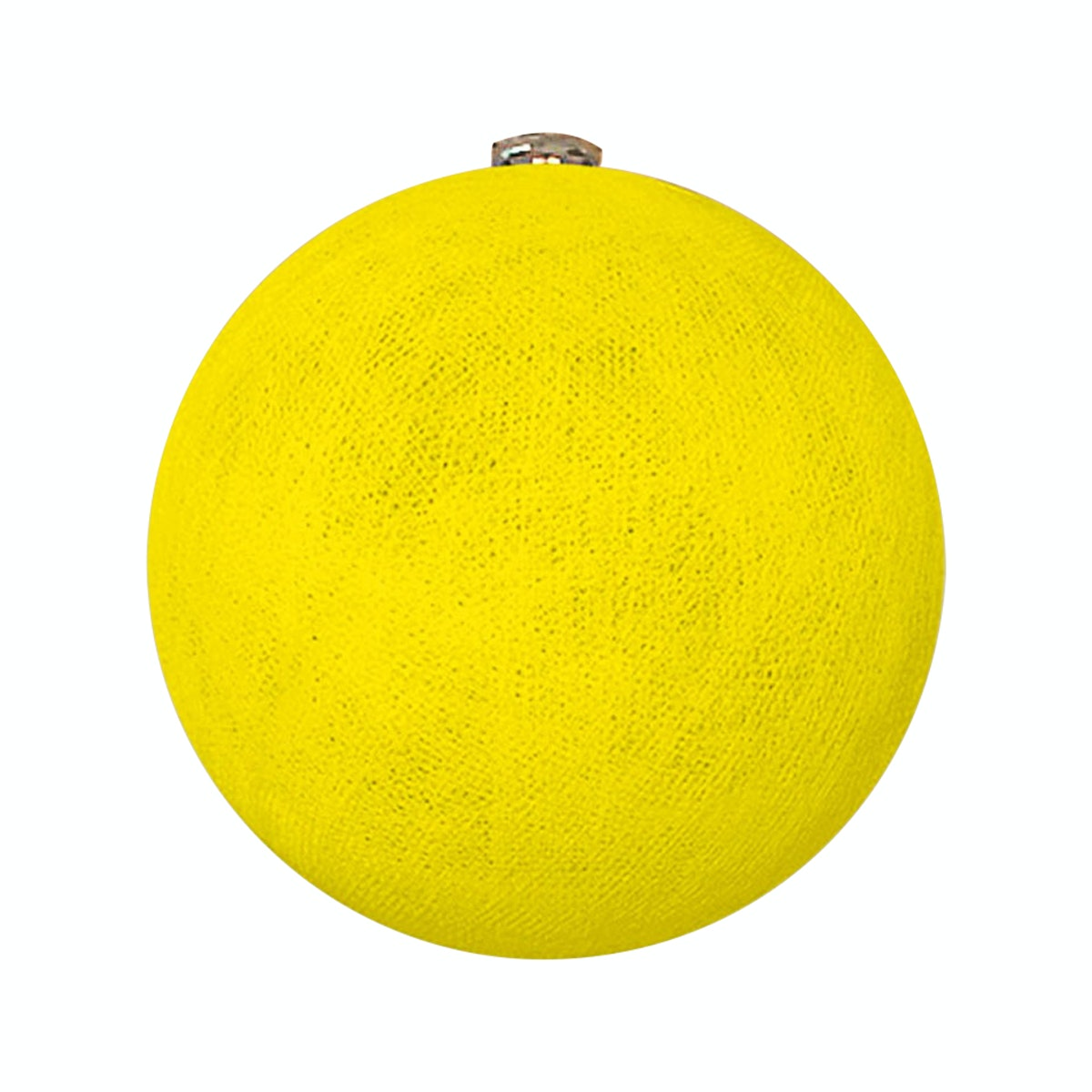 "Lightcraft Indonesia Big Cotton Ball 10"" Yellow"