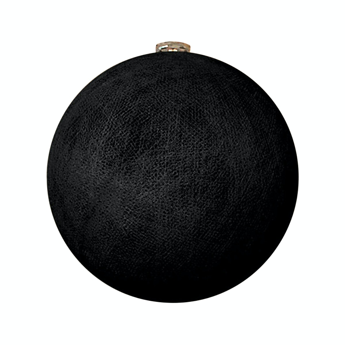 "Lightcraft Indonesia Big Cotton Ball 10"" Black"