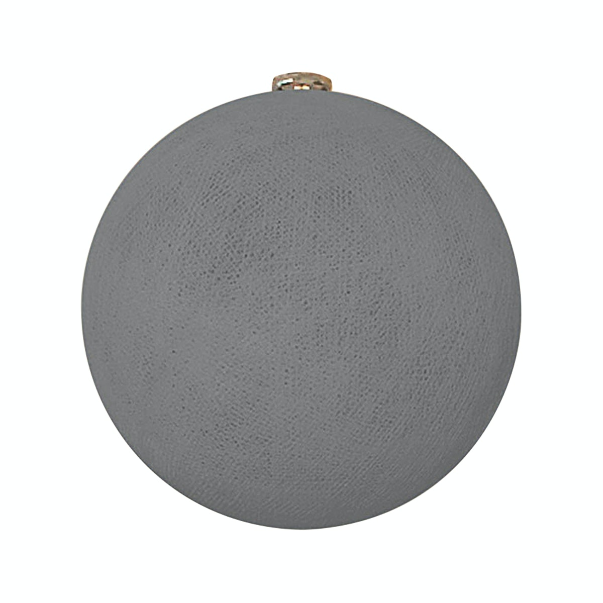 "Lightcraft Indonesia Big Cotton Ball 10"" Stone Grey"