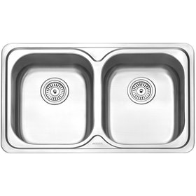 Modena Kitchen Sink 2 Bak BOLSENA KS 3200