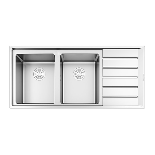 Modena Kitchen Sink 2 Bak 1 Drainer Garda KS 6251