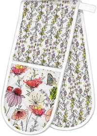 Michel Design Works Double Oven Glove - Posies
