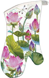 Michel Design Works Single Oven Glove - Water Lilies