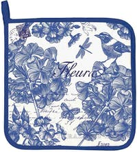 Michel Design Works Potholder - Indigo Cotton