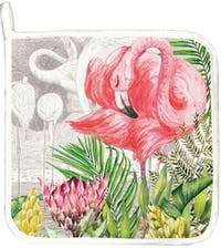 Michel Design Works Potholder - Flamingo