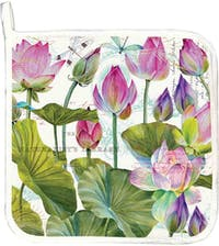 Michel Design Works Potholder - Water Lilies