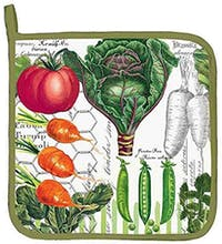 Michel Design Works Potholder - Vegetable Kingdom