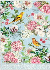 Michel Design Works Handuk Dapur/ Kitchen Towel - Garden Melody