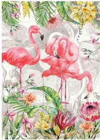 Michel Design Works Handuk Dapur / Kitchen Towel - Flamingo