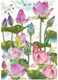 Michel Design Works Handuk Dapur / Kitchen Towel - Water Lilies