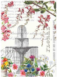 Michel Design Works Handuk Dapur / Kitchen Towel - In the Garden