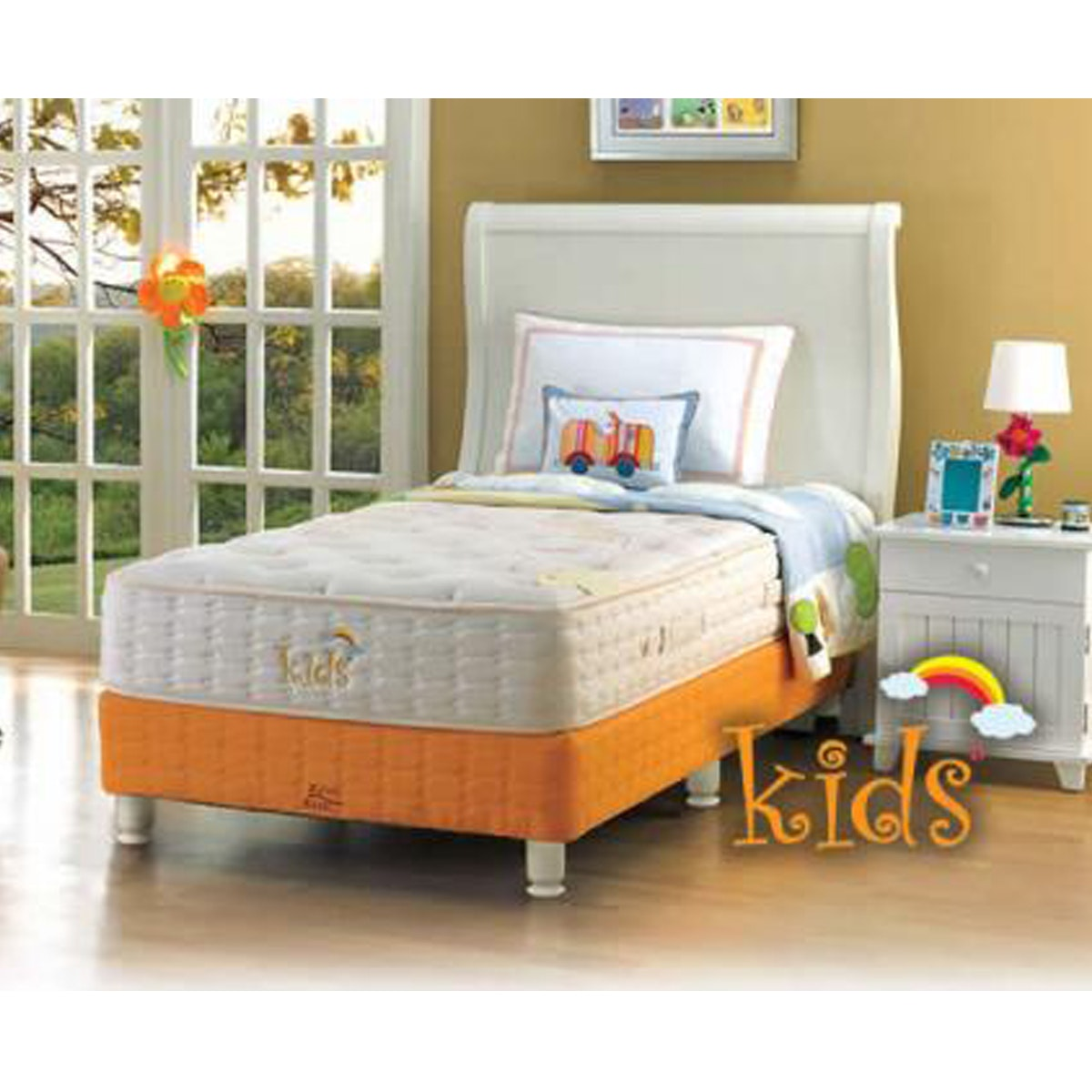 King Koil Kasur Kids Single Uk 120x200