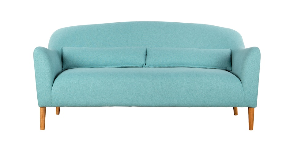 Voda Collection Imma Sofa 3 Dudukan Biru Teal