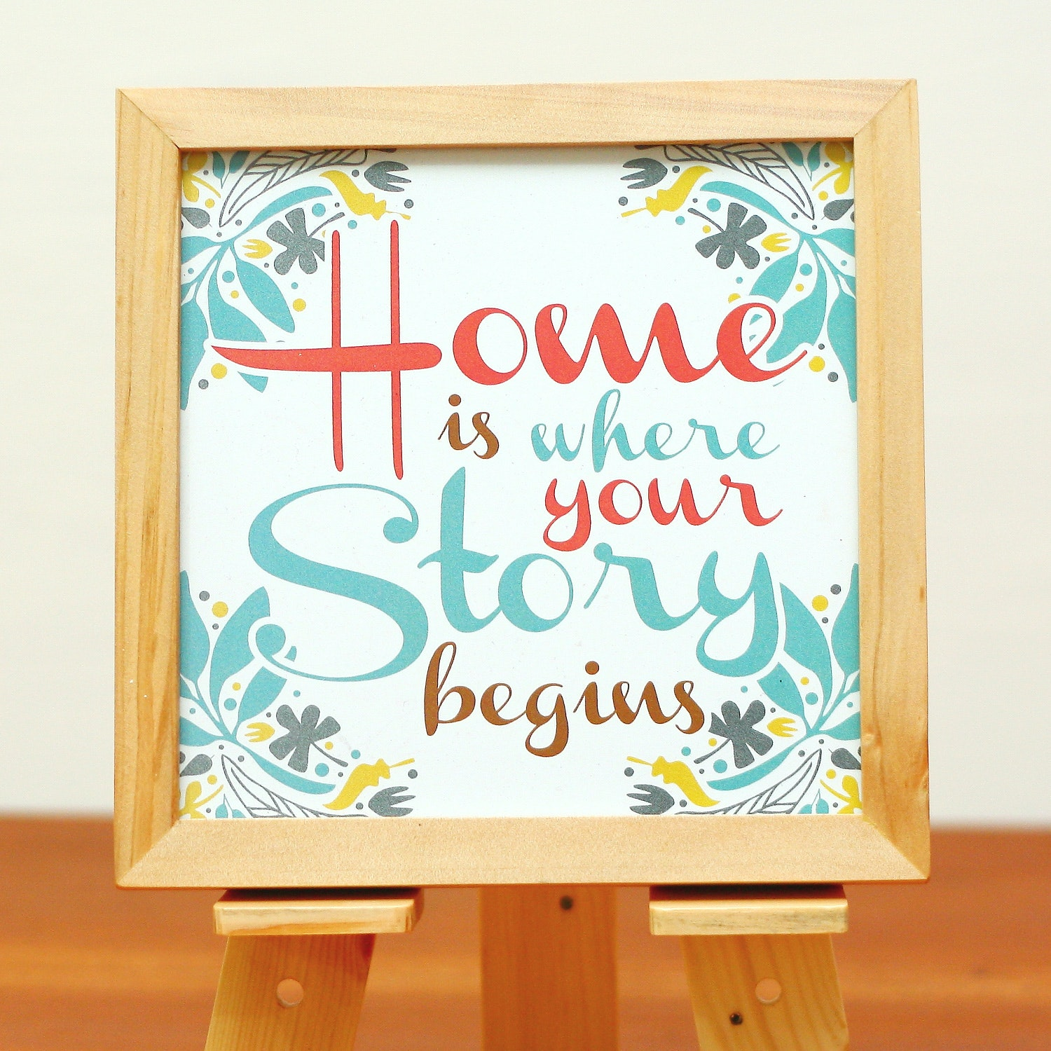 Maken Home is Where Your Story Begins Wall Decor
