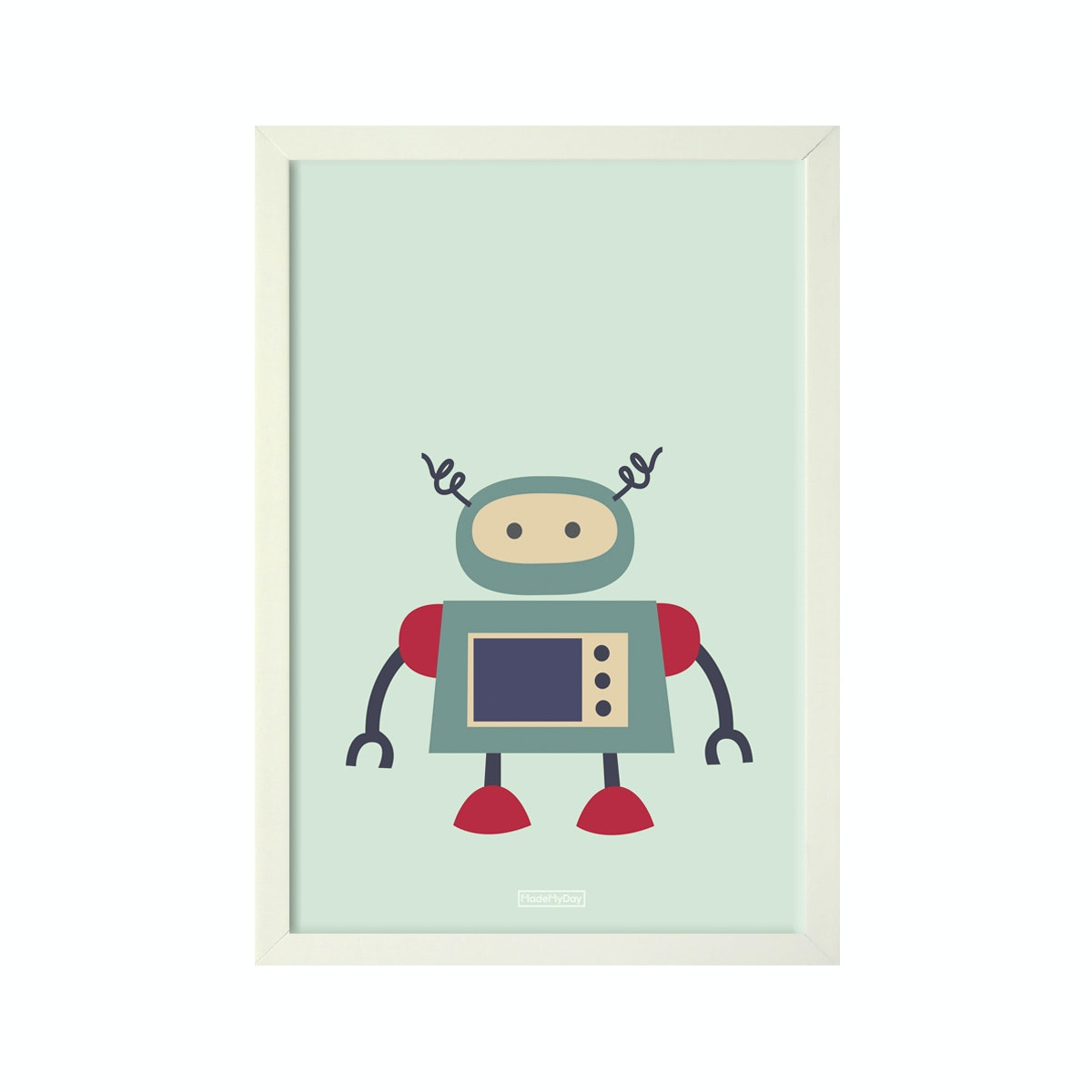 MadeMyDay Weebo The Robot(20X30cm)