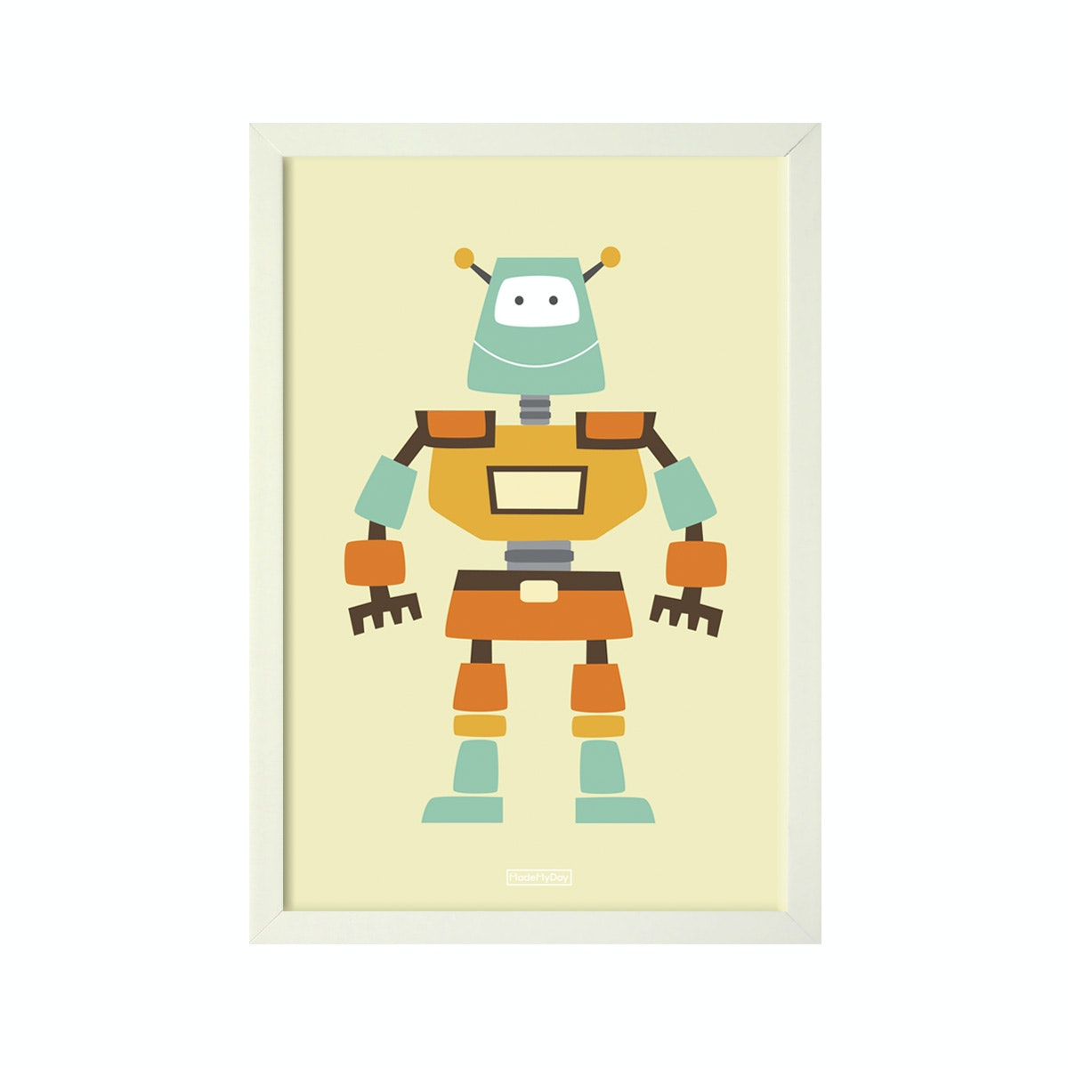 MadeMyDay Zed The Robot (20X30cm)