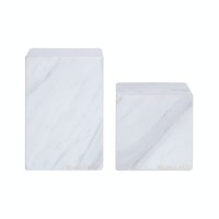 Marble & Co Fine Libro Marble Box/Book standing Putih