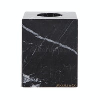 Marble & Co Velina Box Roll/Kotak Tissue Roll Hitam