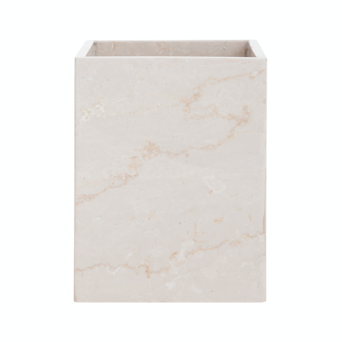 Marble & Co Aperto Marble Box (Large) Krem