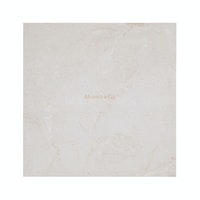 Marble & Co Piazza Coaster Marble/Square Tray Marble Krem