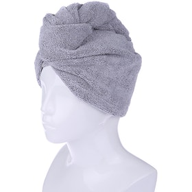 Mipacko Hair Turban Abu-abu