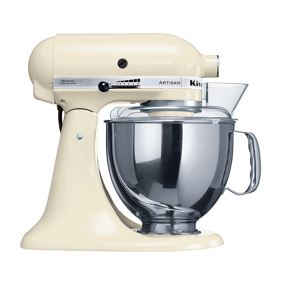 KitchenAid Artisan Series 4.8 L Stand Mixer (Almond Cream)