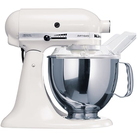 KitchenAid Artisan Series 4.8 L Stand Mixer (White) + FREE CERAMIC BOWL