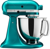 KitchenAid Artisan Series 4.8 L Stand Mixer (Series 5 Qt - Sea Glass) + FREE FGA & SILICONE SLOTTED SPOON