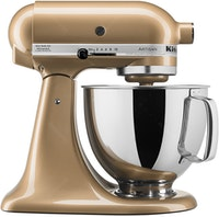 KitchenAid Artisan Series 4.8 L Stand Mixer (Series 5 Qt - Golden Nectar) + FREE FGA & SILICONE SLOTTED SPOON