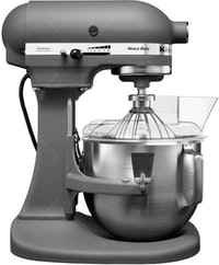 KitchenAid 4.8 L Heavy Duty Bowl - Lift Stand Mixer Pro Series 5 Qt, S/S Bowl With Handle Grey