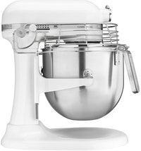 KitchenAid 8 Qt Professional Bowl - Lift Stand Mixer - Frosted Pearl