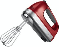 KitchenAid Hand Mixer 9 Speed - Empire Red
