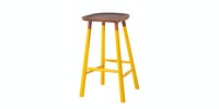 Malik Art Baccarat Bar Stool Kuning