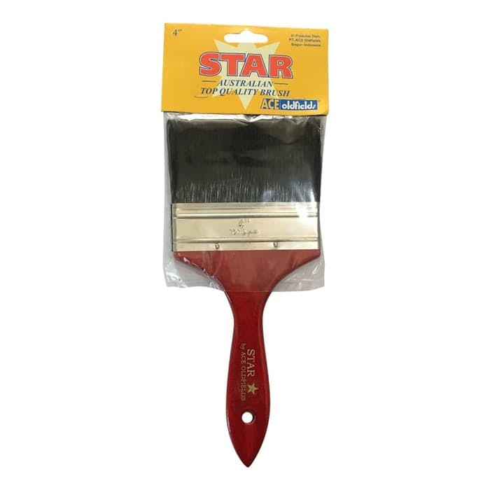 Ace Oldfields Kuas Cat Star Brush 4 Inc