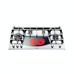 Ariston Kompor Tanam Gas & Vitro Ceramic Hob 90 cm PH941MSTV(IX)