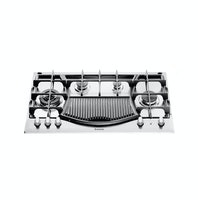 Ariston Kompor Tanam Gas & Barbecue Hob 90 cm PH941MSTB(IX)