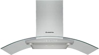Ariston Decorative Wall Hood 90 cm HGA95AMX