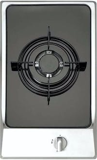 Delizia Built-in Domino Hob 30cm with Mirror Combine DHP310BS7GHG(IX)