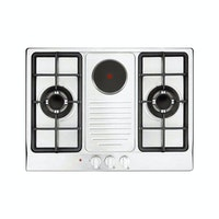 Delizia Built-in Hob Gas & Electric 70cm DHP721BS7GH(IX)