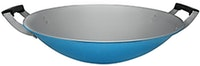 Maspion Alcor Summer Wok 30cm Biru