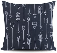 Myka_kids Dark Grey Arrow Cushion 40x40