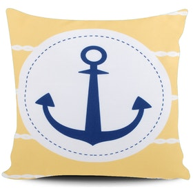 Myka_kids Yellow Anchor Cushion 40x40