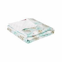 Myka_kids Mint Unicorn Baby Blanket