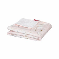 Myka_kids Pink Mermaid Baby Blanket