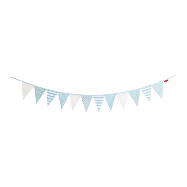 Myka_kids Bunting Flags - Baby Blue