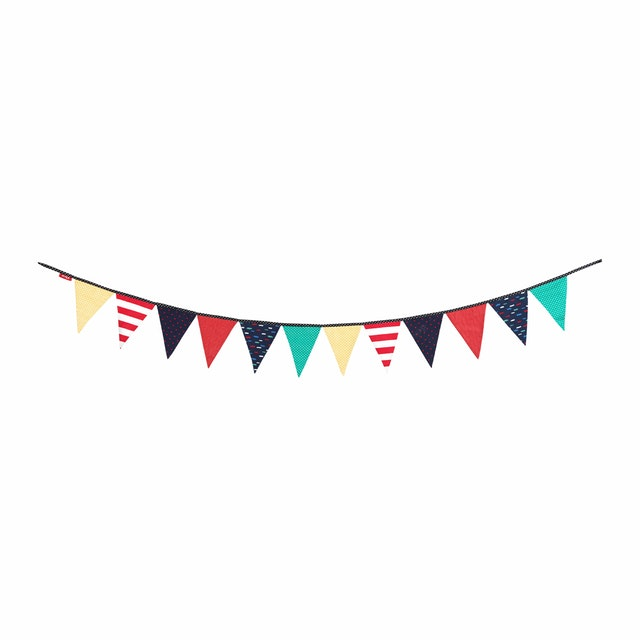 Myka_kids Bunting Flags - Colorful