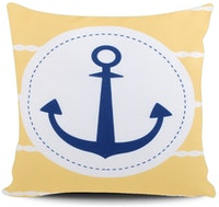Myka_kids Yellow Anchor Cushion Cover 40x40