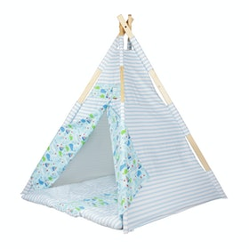 Myka_kids Teepee Baby Blue Ocean Friends