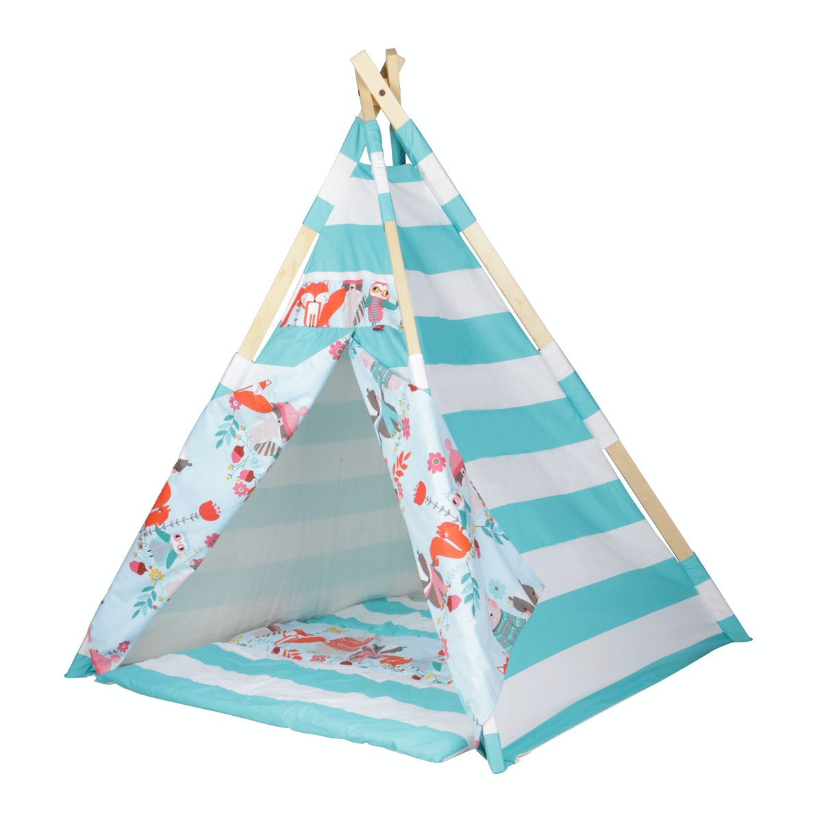 Myka_kids Teepee Tosca Woodland Animals