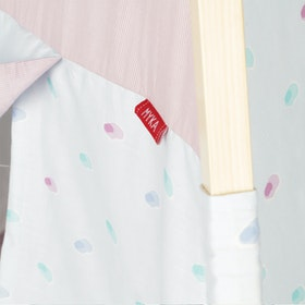 Myka_kids Teepee Baby Blue Diamond